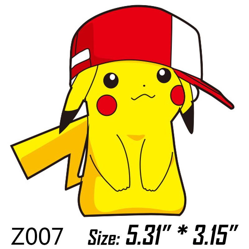 New Pokemon GO Pikachu Wall Sticker Fridge Magnets Decorative.