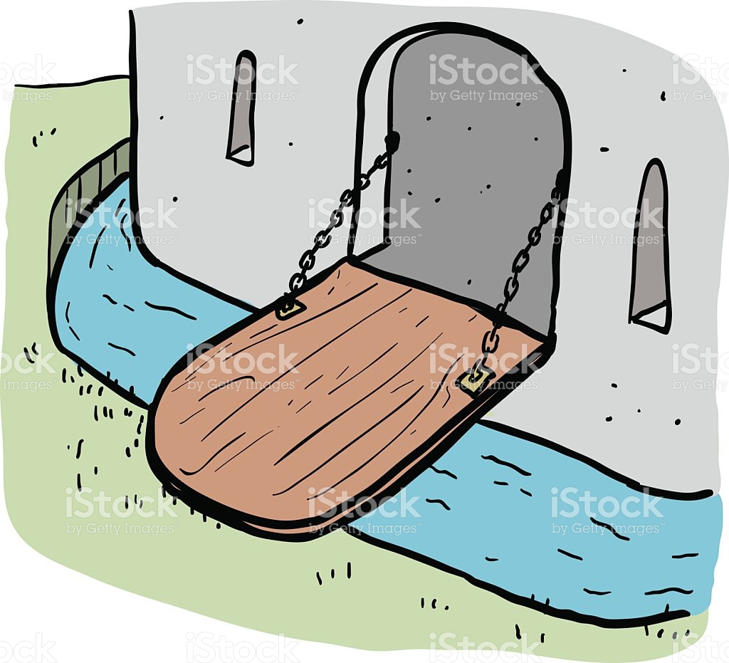 Drawbridge clipart.