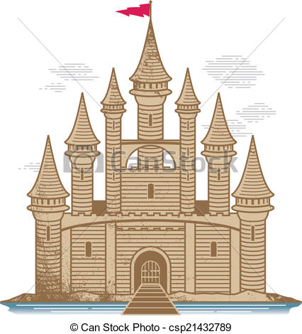 Vector of Sand Castle.