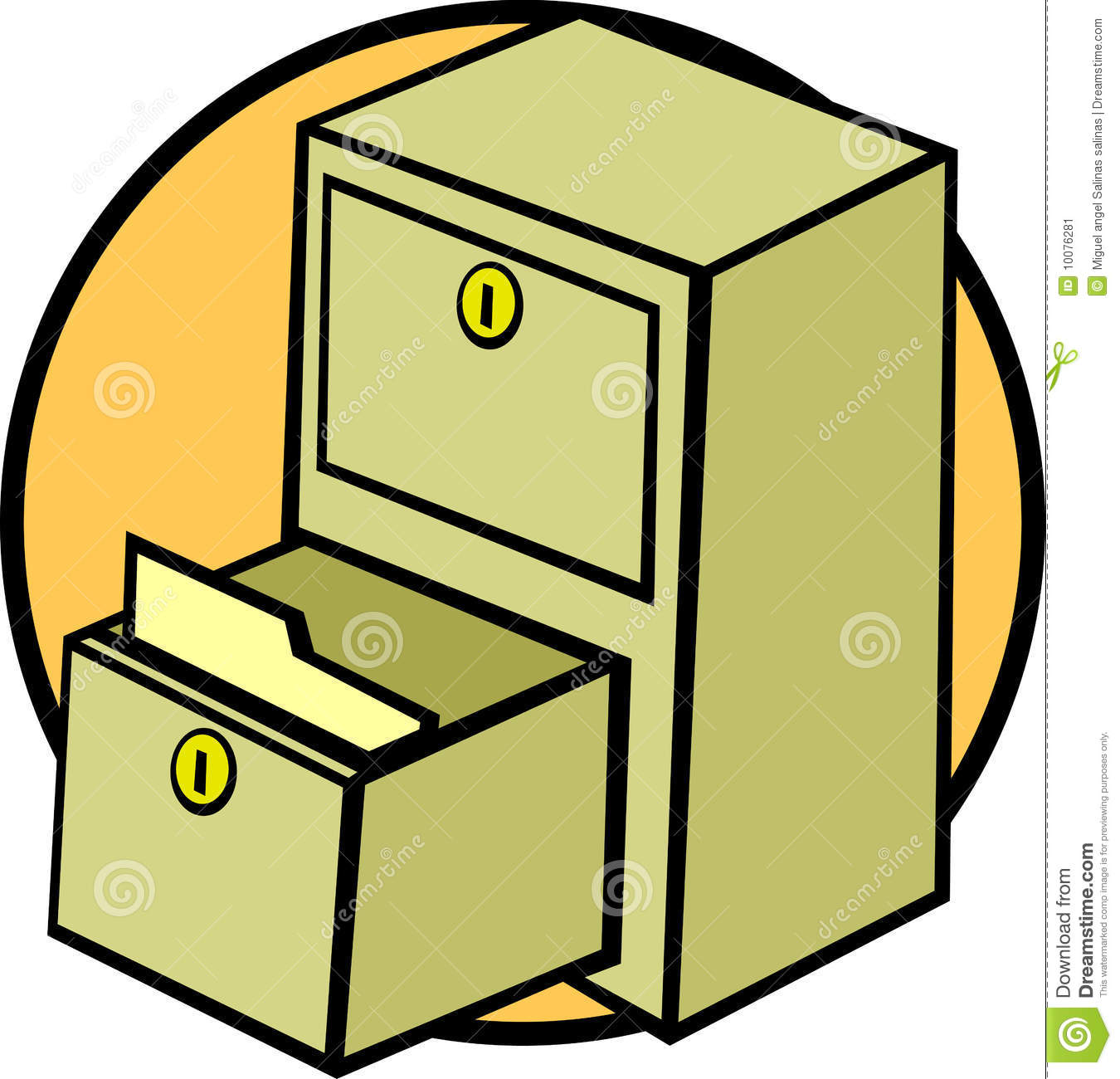 Open Cupboard Clip Art: Drawer Clipart