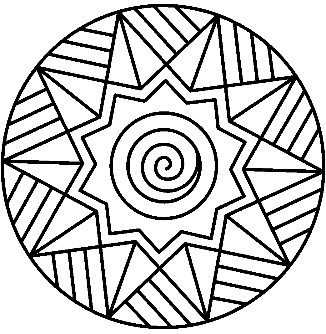 Printable abstract clipart.