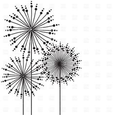 Images For > Abstract Flower Drawings.