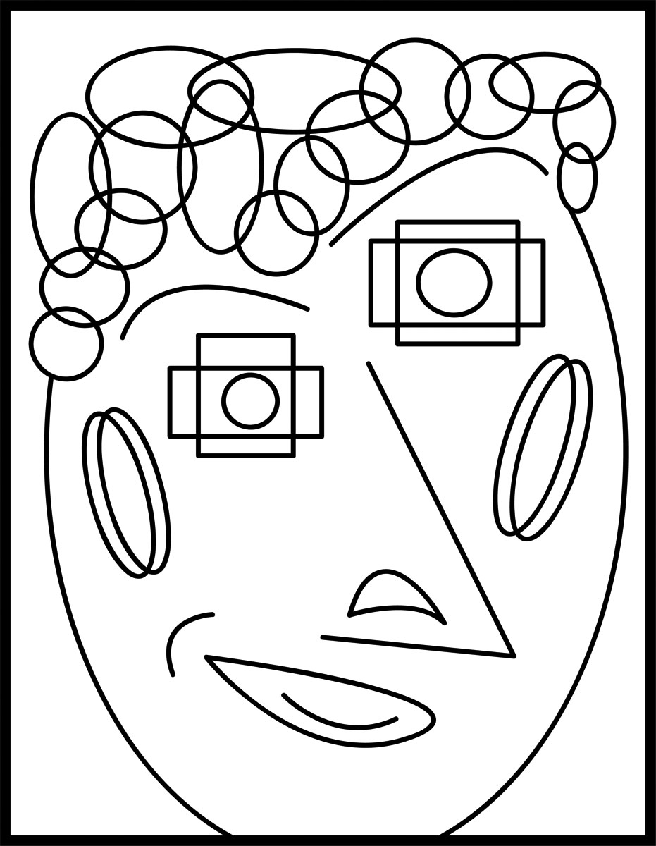 Art abstract clipart.