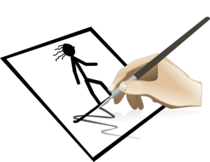 How to draw clipart.