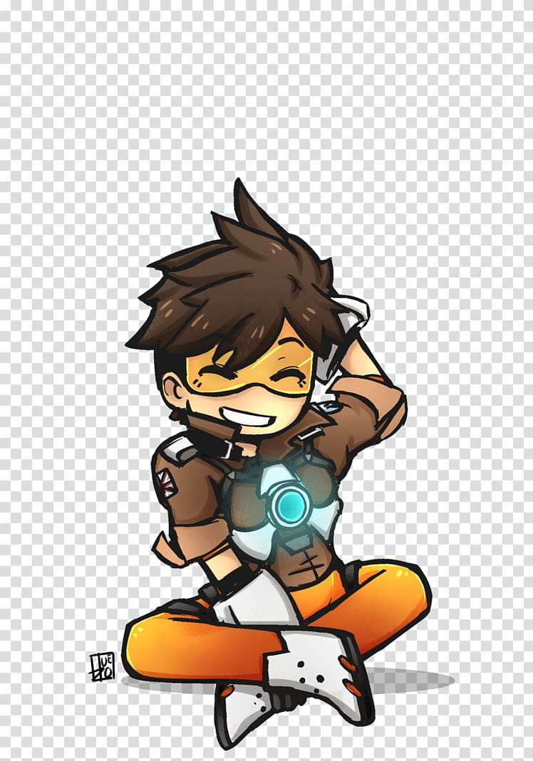 Overwatch Tracer Drawing Mei, draw transparent background PNG.