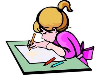 Clipart kids drawing clipartninja.
