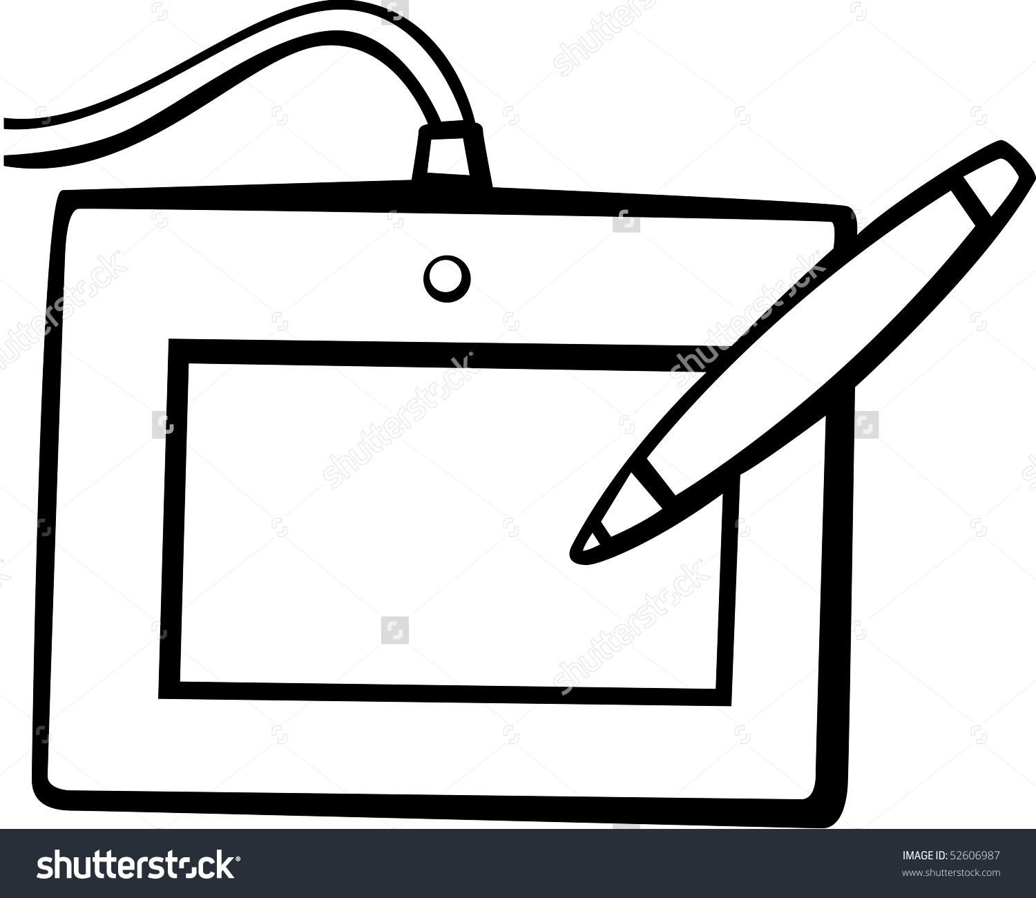 Computer Drawing Tablet Stock Photo 52606987 : Shutterstock.