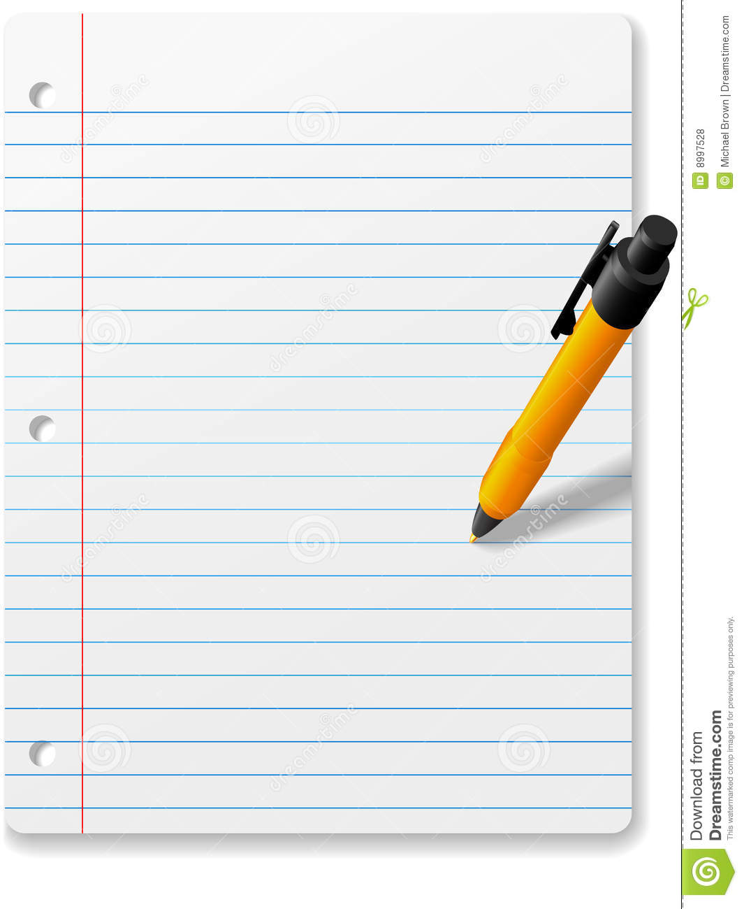 Notebook Writing Clipart Clipground