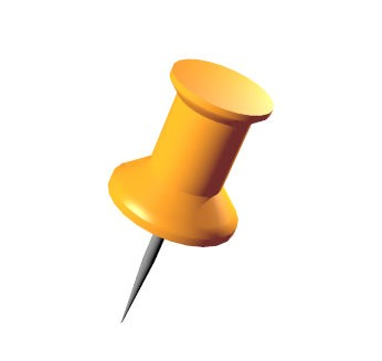Push Pin Clip Art.