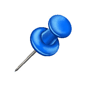 Drawing pin clipart.