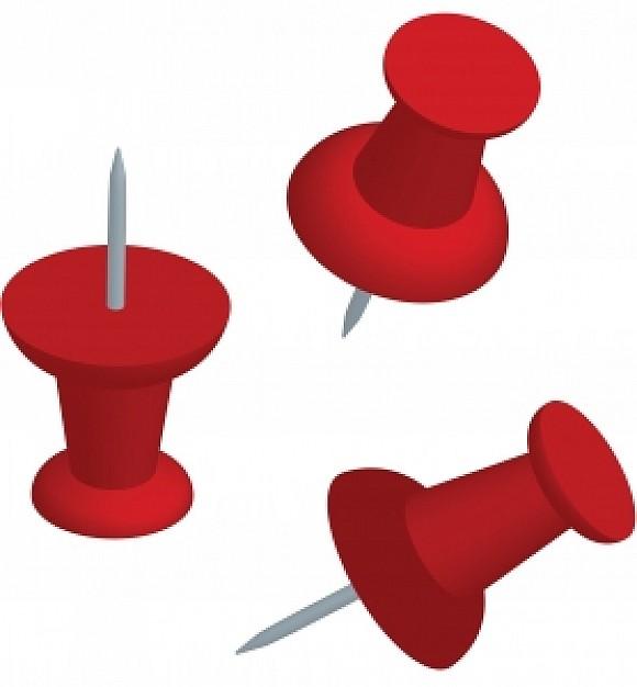 Pushpins clipart #11