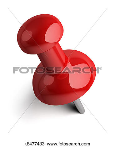 Stock Illustration of Multicolored pins k2553498.