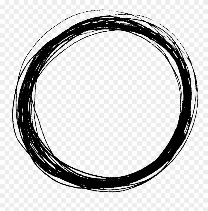 Drawn Circle Transparent Clipart (#2226792).