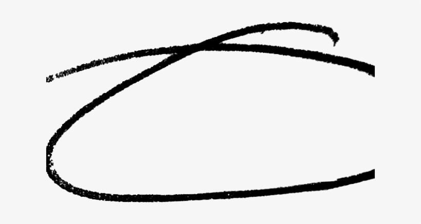 Hand Drawn Circle Transparent Background Transparent PNG.