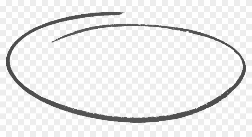 Hand Drawing Circle Png, Transparent Png.
