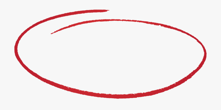 Drawn Circle Transparent Background.