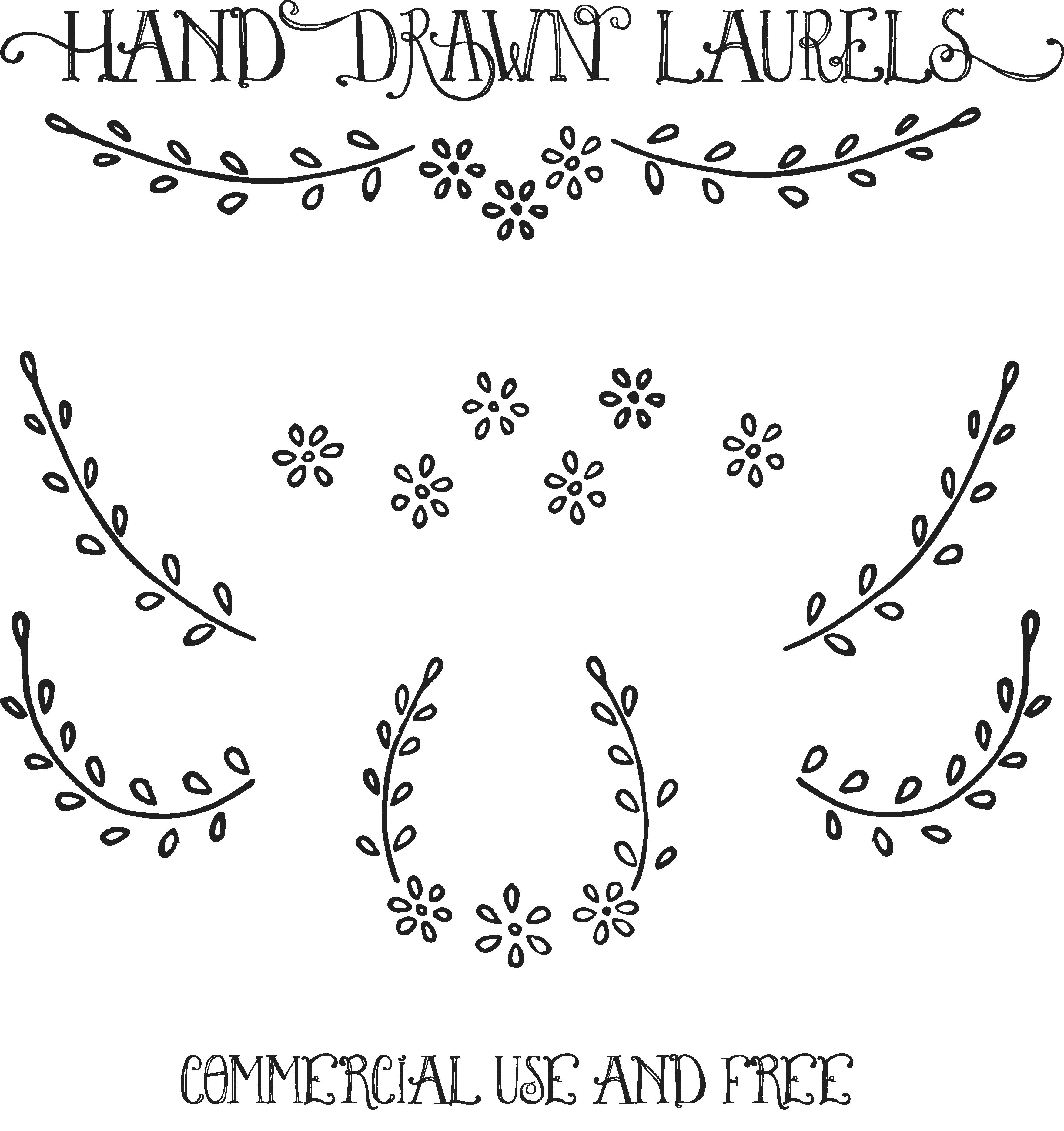 hand drawn clipart