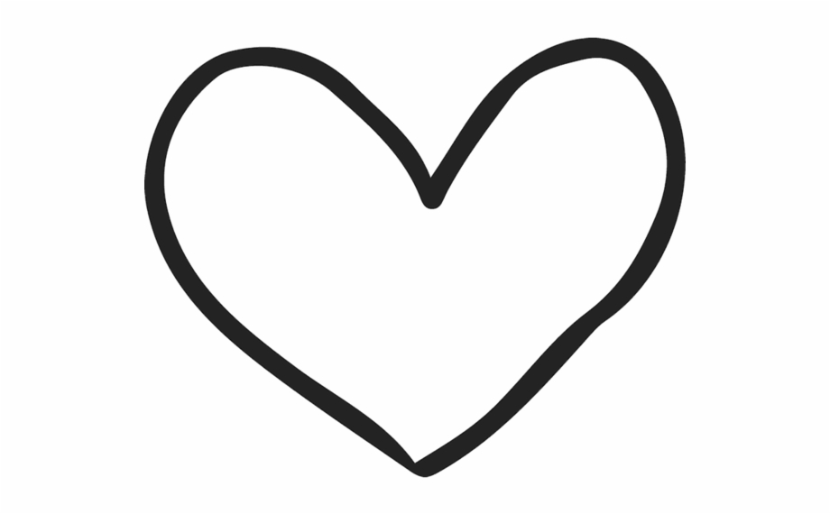 Hand Drawn Heart Clipart Free PNG Images & Clipart Download #3033574.