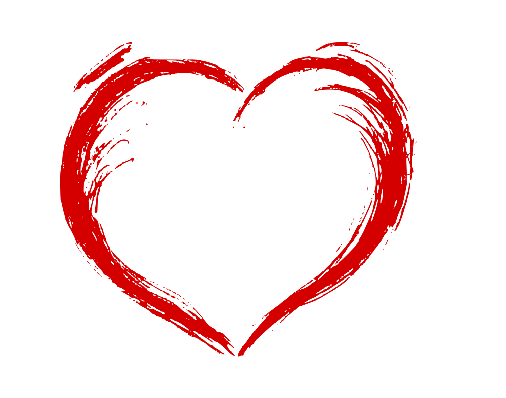 Hand Drawn Heart (EPS, SVG, PNG).