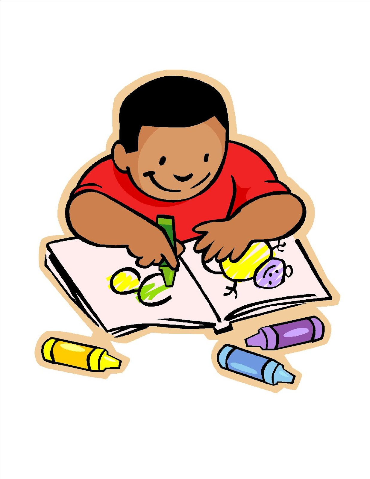 Kids Draws Clipart.