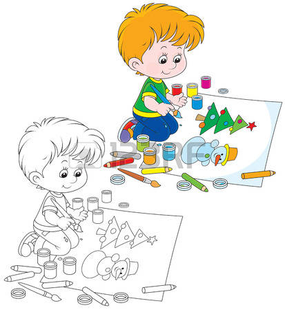 12,503 Boy Draws Stock Vector Illustration And Royalty Free Boy.