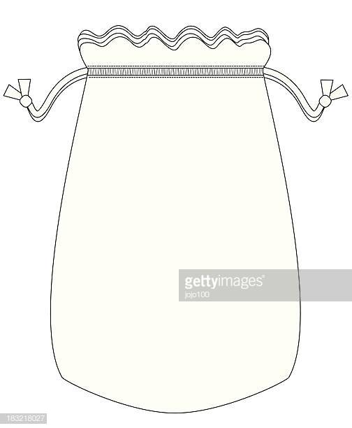 60 Top Drawstring Bag Stock Illustrations, Clip art, Cartoons.