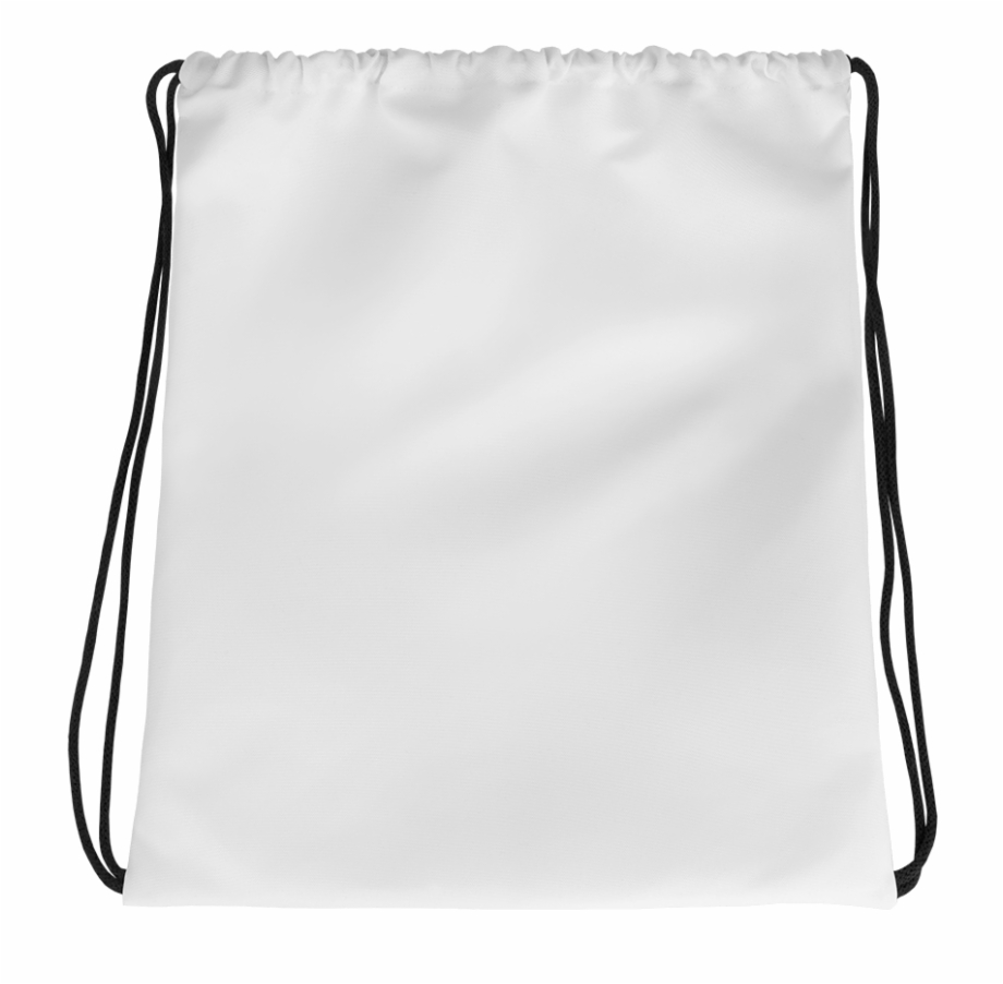 Home / Customize Accessories Drawstring Bags / White.