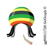 Dreadlocks Clip Art.