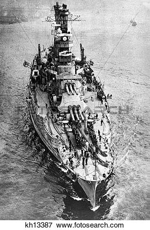 Picture of 1900S 1918 Formidable Dreadnought Of Usa Navy The Uss.