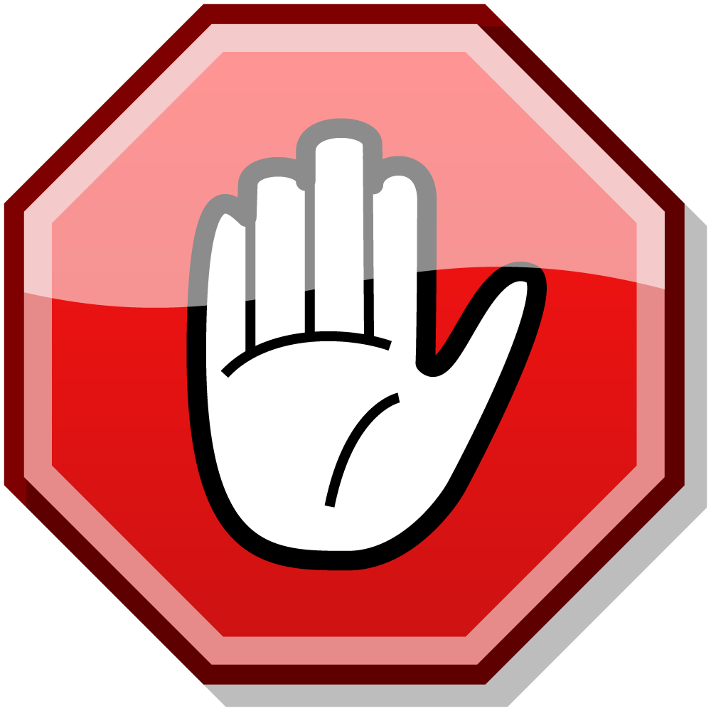 clipart of stop sign #9