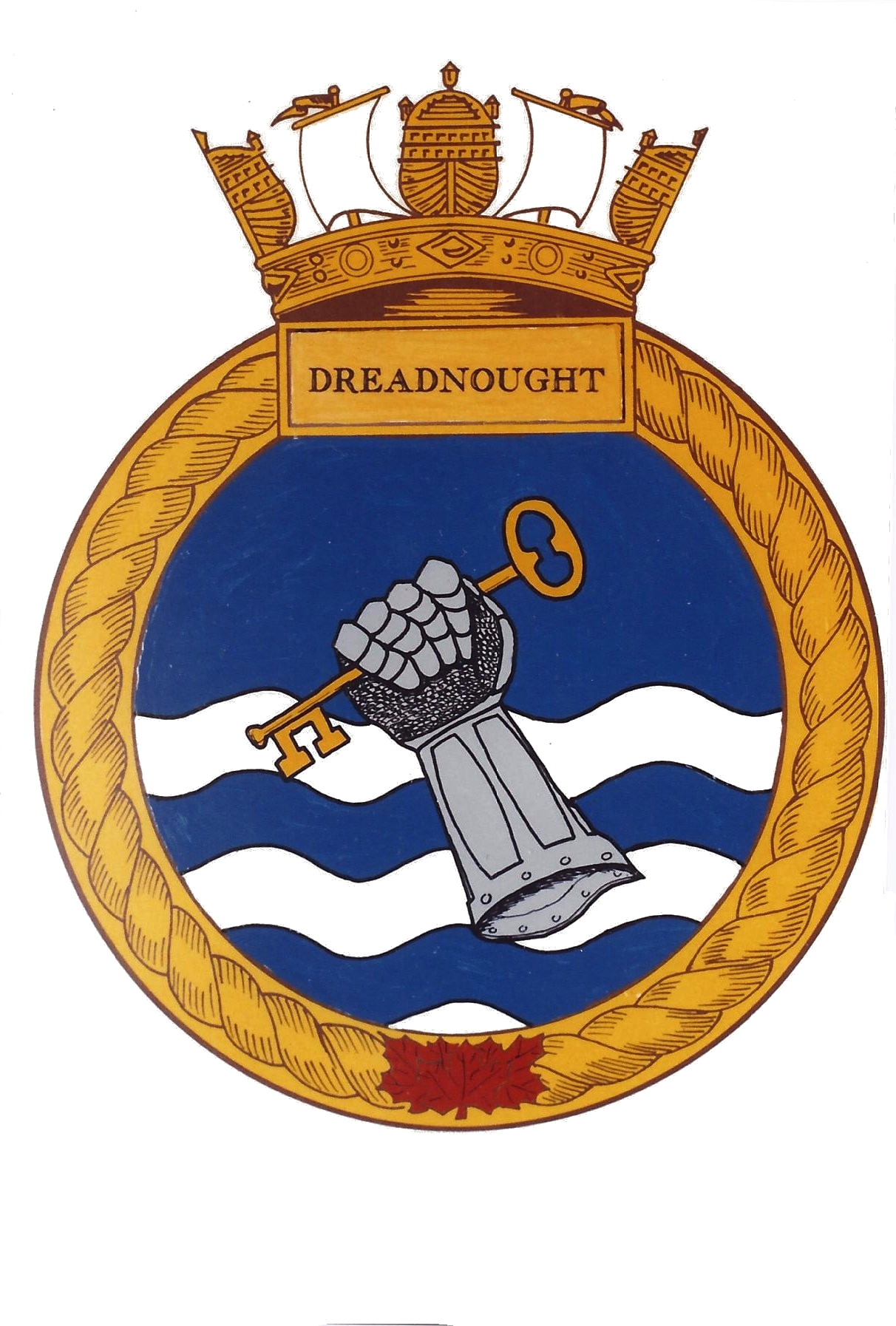 RHSC Roll of Arms: Dreadnought.