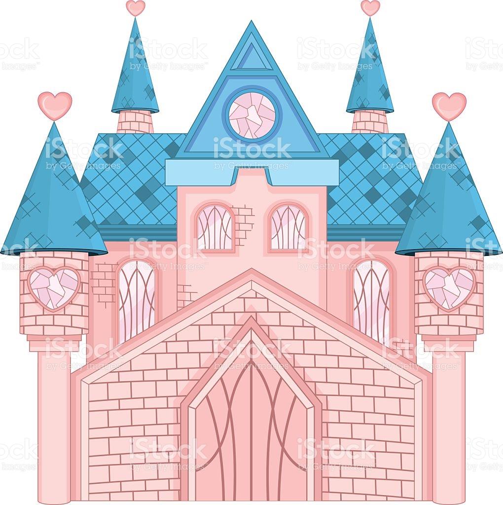 Dream Castle stock vector art 523999531.