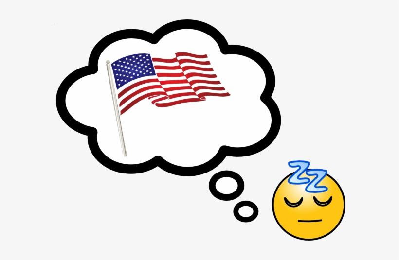 American Dream Word Cloud.