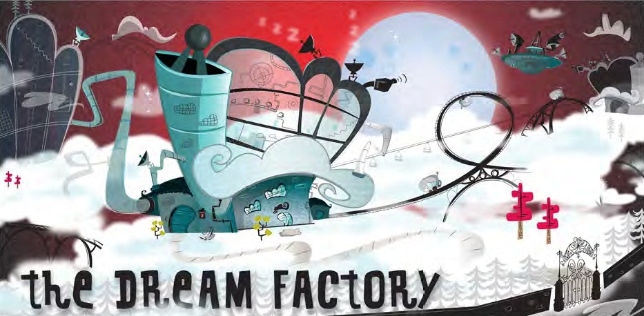 """Sticky Pictures & Brown Bag Partner for """"Dream Factory"""" Series."""