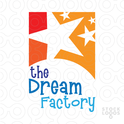 Exclusive Customizable Logo For Sale: The dream factory.