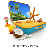 Dream vacation dream holiday Clip Art and Stock Illustrations.