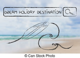 Dream holiday Clip Art and Stock Illustrations. 9,139 Dream.