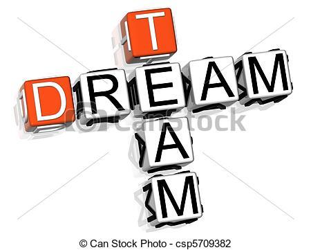 Dream Team Crossword.