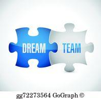 Dream Team Clip Art.