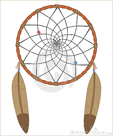 Dreamcatcher Stock Illustrations.