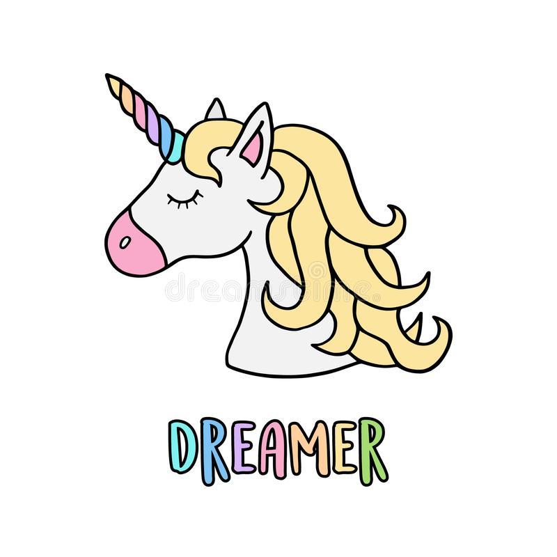 Dreamer Stock Illustrations.