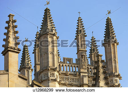 Stock Photograph of England, Oxfordshire, Oxford. The dreaming.