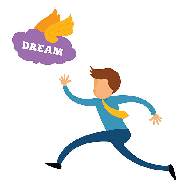 Clip Art Of Follow Your Dreams Illustrations, Royalty.