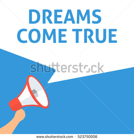 Dreams Come True Stock Images, Royalty.