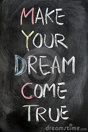 Dream Come True !#1 Stock Photos.