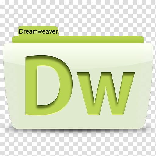 Adobe CS Colorflow Icon, Dreamweaver transparent background.
