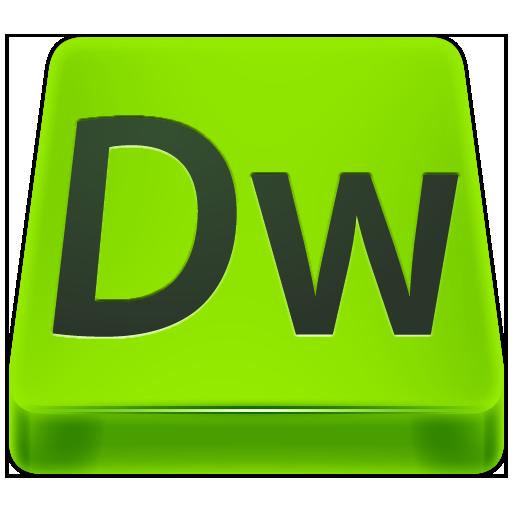 Adobe Dreamweaver CS6 Icon.