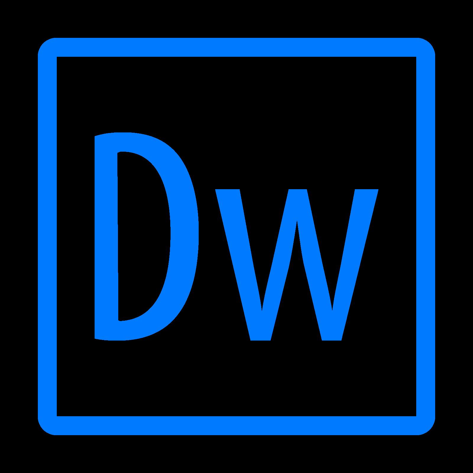 Adobe Dreamweaver Icon.
