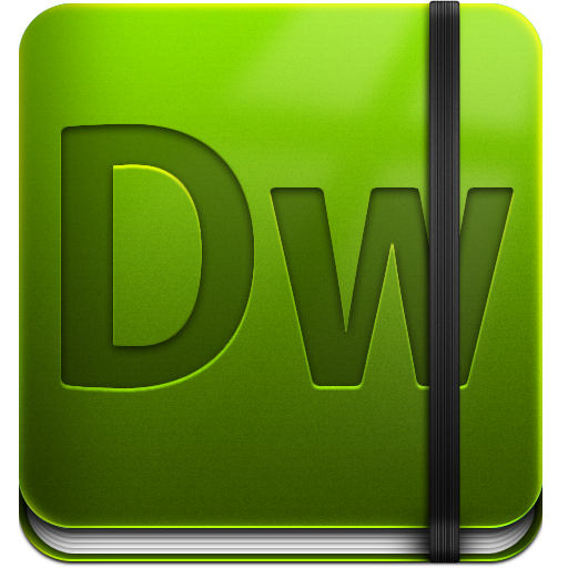 Adobe Dreamweaver Icon PNG Image.