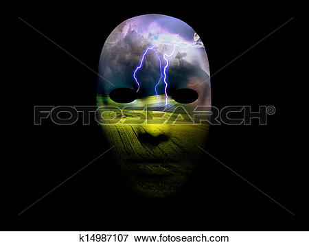 Stock Illustration of Storm Drama Dream Scene k14987107.